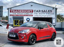 Citroen Ds3, 2014 (14) Red Hatchback, Manual Petrol, 71,759 miles