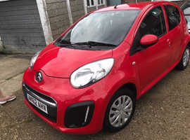 Citroen C1, 2012 (62) Red Hatchback, Manual Petrol, 94,200 miles