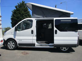Renault TRAFIC SL27 DCI SWB CAMPER VAN WHITE MANUAL 4 BERTH  *FINANCE AVAILABLE* **SOLD**