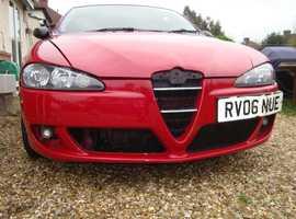 Alfa Romeo 147, 2006 (06) Red Hatchback, Manual Petrol, 97998 miles, Bedford MK41 area
