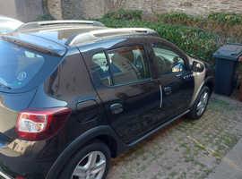 Dacia Sandero, 2015 (15) Black Hatchback, Manual Diesel, 59,700 miles