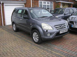 (55-06) HONDA CRV 2.0 SE VTEC AUTO MET/GREY 5 DOOR (104000 MILES FSH IMMACULATE CONDITION)