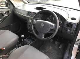 Vauxhall Meriva, 2008 (08) Silver MPV, Manual Petrol, 78,000 miles, MOT APR 2020