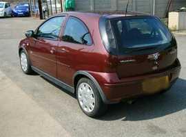2005, 1.3 Diesel Corsa Life, Full 12 Months MOT