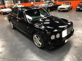 Bentley Arnage, 2005 (Q) black saloon, Automatic Petrol, 51000 miles