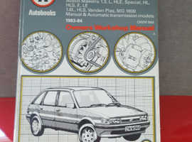 Collection of workshop manuals see pix for list