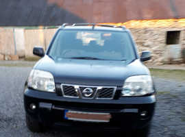 Nissan X-TRAIL, 2006 (06) Black Estate, Manual Diesel, 121,957 miles