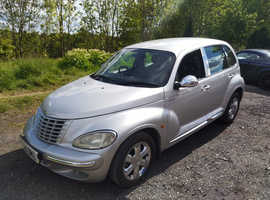 Chrysler Pt Cruiser, 2005 (05) Silver Saloon, Manual Diesel, 160,000 miles