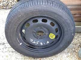 Goodyear GT3,  brand new tyre and wheel, size 175/65R14 82T