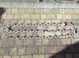 Chain,  large link 9mm approx.    4.6 metre