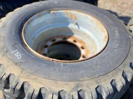 15 22 5 Part Worn Firestone Agricultural Tyres