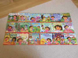 Dora's adventures boxed set of 18.