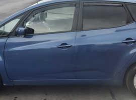 Kia Venga, 2013 (63) Blue Hatchback, Manual Petrol, 45,600 miles