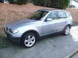 BMW X3 SE AUTOMATIC 2.5L, 2004 REG, LONG MOT, FULL SERVICE HISTORY