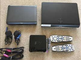 Sky+HD boxes & broadband box