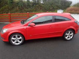 Vauxhall Astra, 2007 (57) Red Hatchback, Manual Diesel, 138,038 miles