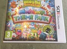 Moshlings Theme Park Nintendo 3DS