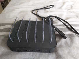 5 port USB multi charger
