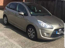 Citroen C3, 2010 (60) Beige Hatchback, Manual Petrol, 60,000 miles