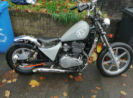 Kawasaki Vulcan 500cc Bobber long mot for swap