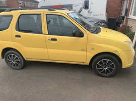 Suzuki Ignis, 2006 (06) Yellow Hatchback, Manual Petrol, 106,000 miles