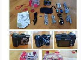 Olympus SP350 camera and PT030 underwater housing