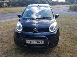 Citroen C1, 2009 (09) Black Hatchback, Manual Petrol, 73,000 miles