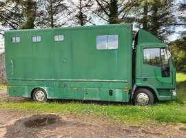 7.5 tonne Ford Iveco Horse Lorry
