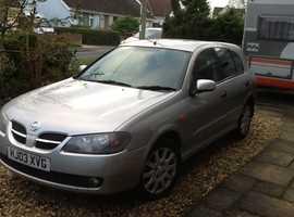 Nissan Almera, 2003 (03) Silver Hatchback, Manual Petrol, 91,000 miles