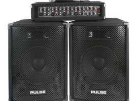 Pulse p.A mixer amp