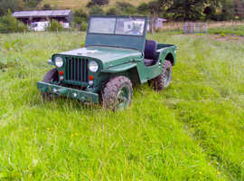 Jeep Willys, 2019 (19) green 4x4, Manual Petrol, 76000 miles