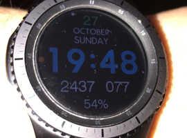 Samsung Gear S3 Frontier GPS watch