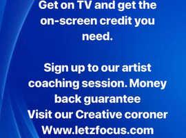 Actors, Singers - Talent - TV exposure - Paid work