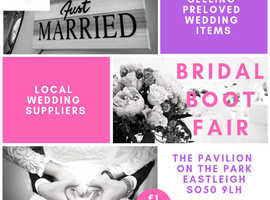 Want to sell your pre-loved wedding items? Bridal boot fair spaces just £10!