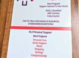 M.E Personal Support
