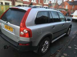 Volvo Xc90, 2004 (04) Silver Estate, Semi auto Petrol, 108,893 miles