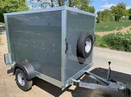 New Tickners ECo Box Trailer in Charcoal 6' x 4' x 4'