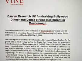 Cancer Charites UK Fund Raising event