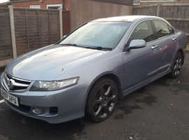 Honda Accord, 2007 (07) Blue Saloon, Manual Diesel, 132,000 miles