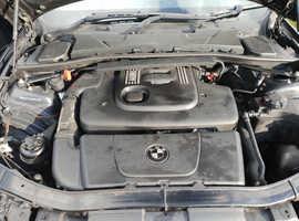 BMW 3 Series, 2006 (06) Black Saloon, Manual Diesel, 175,000 miles