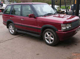 Land Rover Range Rover, 2001 (Y) Red Estate, Automatic Diesel, 95,000 miles