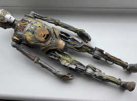 RARE.. Star Wars C-3P0 Electronic Talking Build figure. 1999