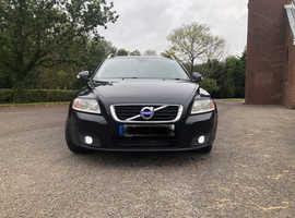 Volvo V50, 2012 (12) Black Estate, Manual Diesel, HIGH MILES SEE SERVICE HISTORY