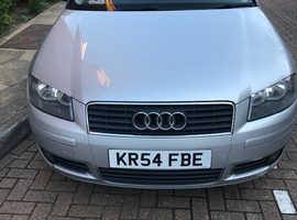Audi A3, 2005 (54) Silver Hatchback, Manual Diesel, 115,716 miles