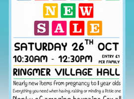 Ringmer Tiddlers & Toddlers Nearly New Sale