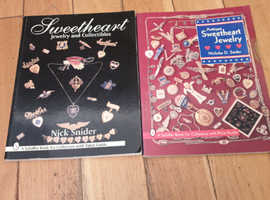 Two nice antique American jewellery and sweetheart pins books