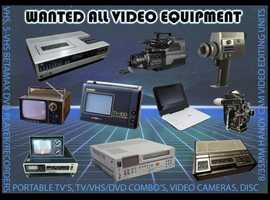 All Old TV Video & Camera Equipment
