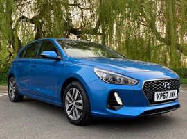 £99 deposit&£179, Hyundai i30, 2017 (67) Blue Hatchback, Semi auto Diesel, 29,700 miles