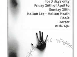 The Veil Exhibition at Holton Lee,Poole, 26th-28th of April 2019