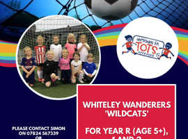 Girls Football at Whiteley Wanderers Wildcats
